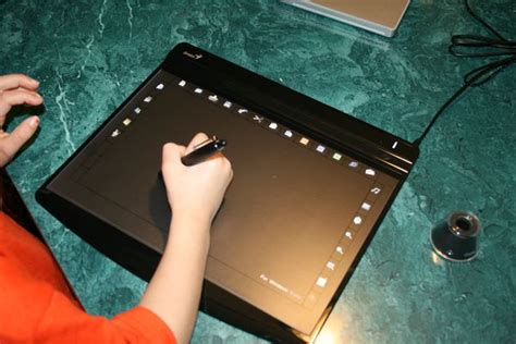 Drawing Pad Genius G Pen M712x 2 genius g pen f610 drawing tablet review dragonsteelmods