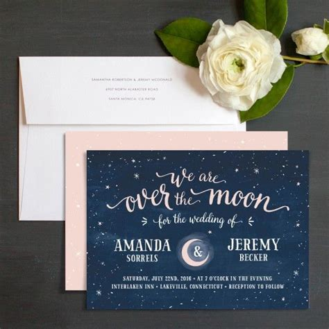 sun and moon wedding invitations 17 best ideas about illustrated wedding invitations on