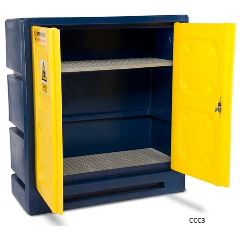 Chemical Storage Cabinets Plastic Chemical Storage Cabinet Chemcube Ese Direct