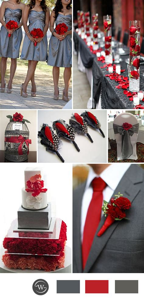 color combination 2017 top 10 grey wedding color combination ideas for