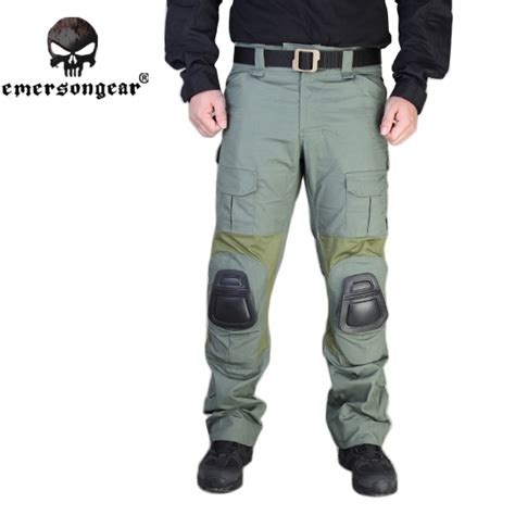 Celana Kneeped Emerson 2 emersongear g2 tactical with knee pads airsoft emerson combat trousers