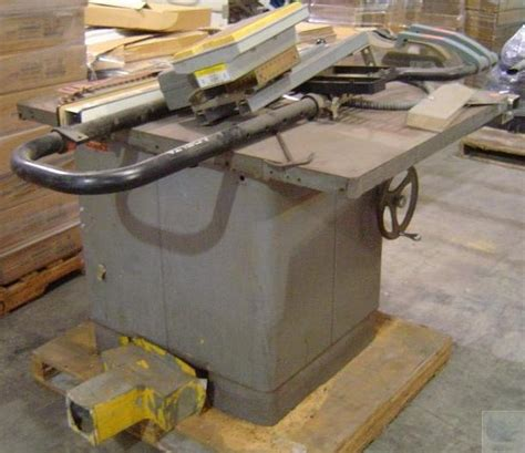 rockwell delta manufacturing unisaw table saw and fence