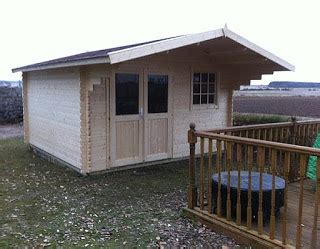 Thirsk Log Cabins by Thirsk Log Cabin Installation Garden Log Cabin Installed