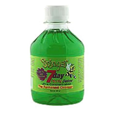 Does Total Detox Jazz Work For Pcp by The Stinger Seven Day Total Detox Drink