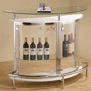 Pub Table With Wine Rack by Modern Black White Clear Front Glass Top Wine Stemware