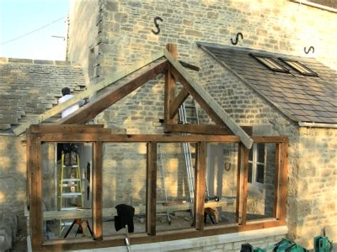 Hipped Roof Extension Designs The Traditional Oak Frame Co Ltd Guiting Power The