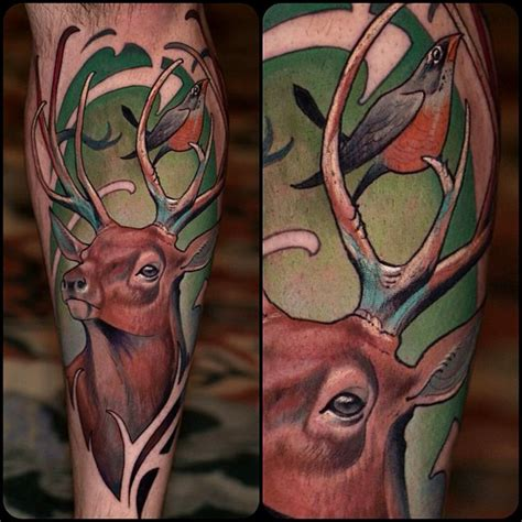 traditional deer tattoo 60 best images about deer ideas on