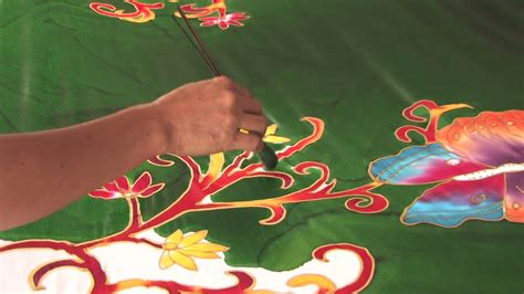 wallpaper batik bali person making batik cloth handicraft textile fabric bali