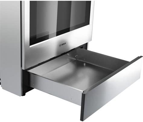 bosch gas range with warming drawer bosch hei8054u 30 inch slide in electric range with 5
