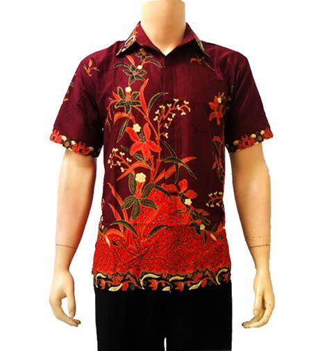 Kemeja Pria Batik Baju Pria Kemeja Murah Baju Kemeja Slim Fit Katun baju kemeja batik pria modern the knownledge