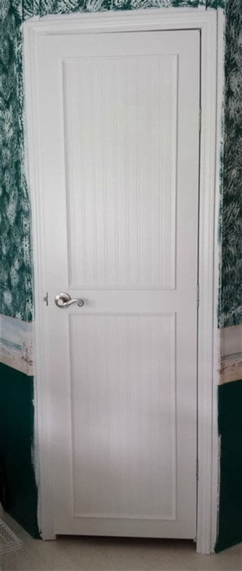 Plain Interior Door by How To Update Plain Flat Interior Doors Us2