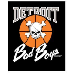 Original detroit bad boys poster the detroit bad boys