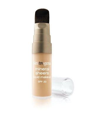 Product Review Neutrogena Mineral Sheers For by Neutrogena Neutrogena Healthy Mineral Sheers Liquid Makeup
