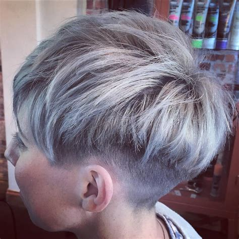 silver pixie hair cut 37 incredible silver hair color ideas in 2018