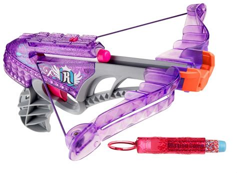 girls nerf rebelle star shoot blaster set preview nerf new york toy fair nerf rebelle