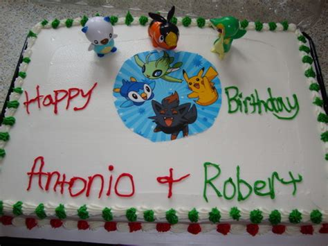 amazoncom pokemon birthday cake topper decorating kit toys games