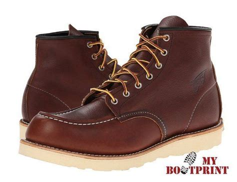 most comfortable red wing boots red wing heritage classic 6 inch moc toe work boot review