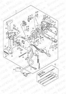 fig 65 opt remote suzuki df 50 parts listings 2005 to 2010