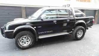 Mitsubishi Warriors For Sale Mitsubishi 2003 L200 Warrior Lwb Black Car For Sale