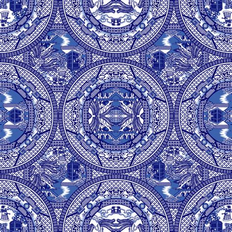 willow pattern wallpaper blue willow pattern wallpaper