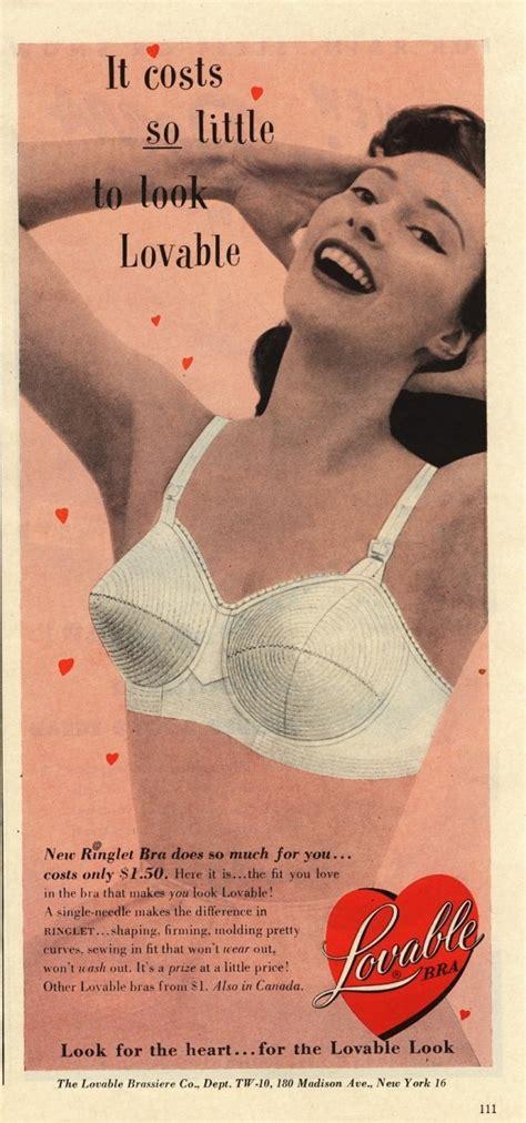 vintage bra commercials 53 best images about lovable on pinterest vintage bra