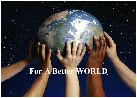 In A World the a to do list for a better world