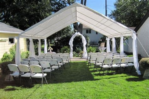 25  best ideas about Backyard wedding ceremonies on