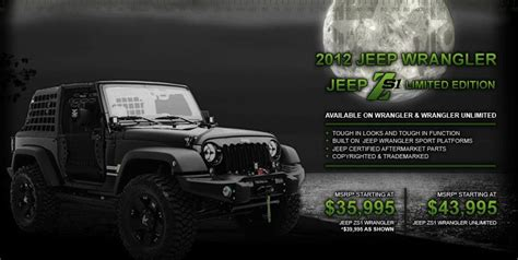 zombie slayer jeep zombie slayer jeep zs1 limited edition looks cool but