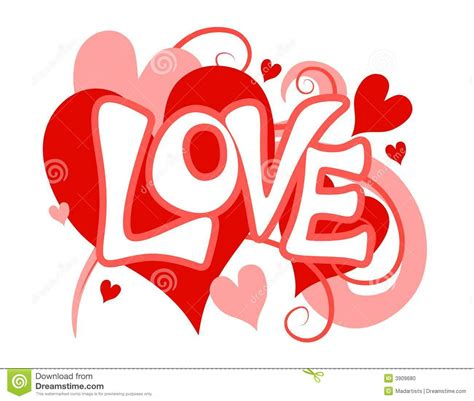 love themes words valentine s day love heart clip art stock photo image