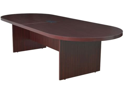 conference table with power racetrack conference table w 1 power data module 10 conference tables