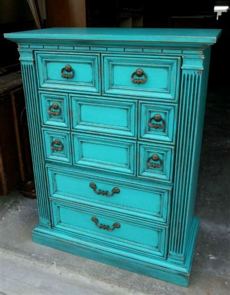 turquoise bedroom furniture 25 best ideas about distressed turquoise furniture on