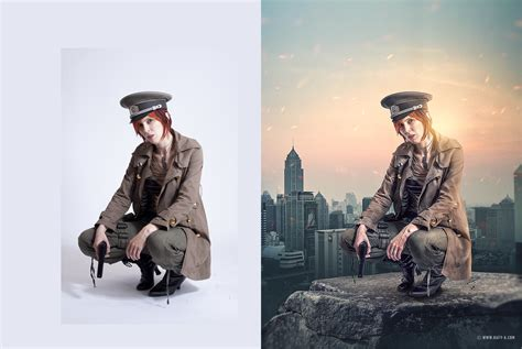 tutorial photoshop how to change background of picture changing background and adding effect tutorial in