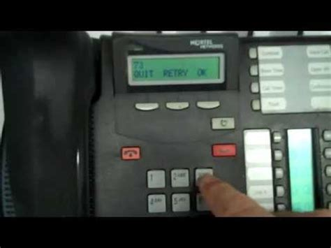 reset voicemail password on nortel phone nortel networks