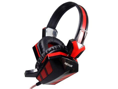 Headset Gaming Rexus F22 jual headphones gaming rexus f 22 visio computer depok