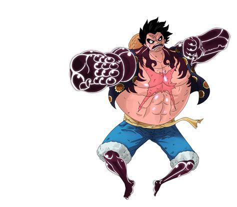 Kaos Luffy Gear Fourth One luffy gear fourth by kekoart97 on deviantart