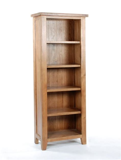 Narrow Depth Bookcase Narrow Depth Bookcase Solid Oak Furniture Large Bookcase