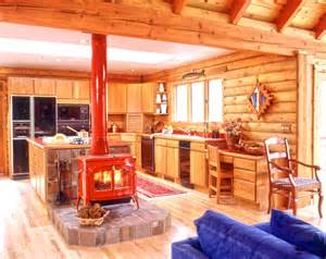 Log Cabin With Wood Burning Stove by Image Result For Http Realloghomes Files