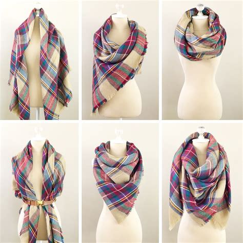 25 best ideas about blanket scarf on blanket