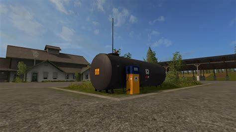 Gas Ls by Placeable Gas Station V1 Fs 17 Farming Simulator 2017