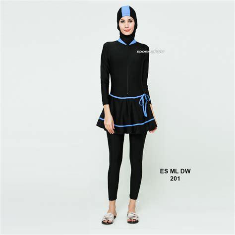 Baju Renang Arena Indonesia baju renang muslimah dewasa es ml dw 201 distributor dan