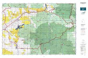 colorado big unit map colorado gmu 53 map mytopo