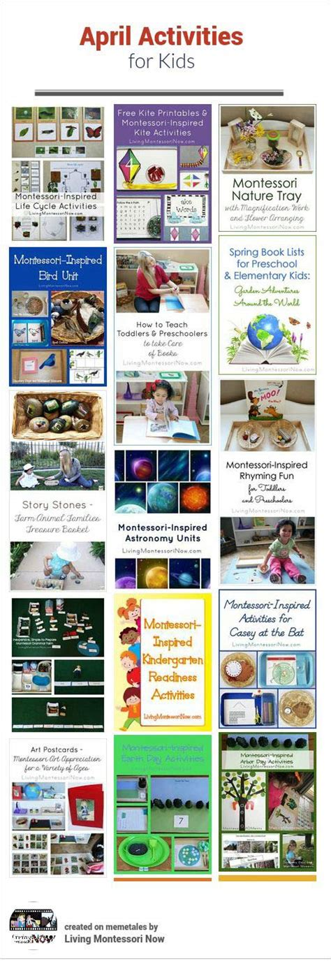 themed events for april april themed activities for kids