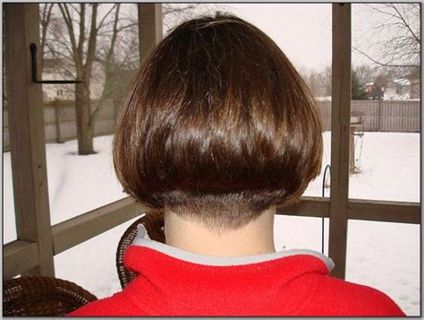side view of blended wedge haircut blended wedge hairstyle 17 best images about hairstyles on