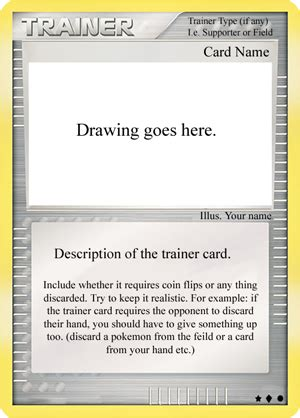 trainer card template trainer card template by pokecards on deviantart