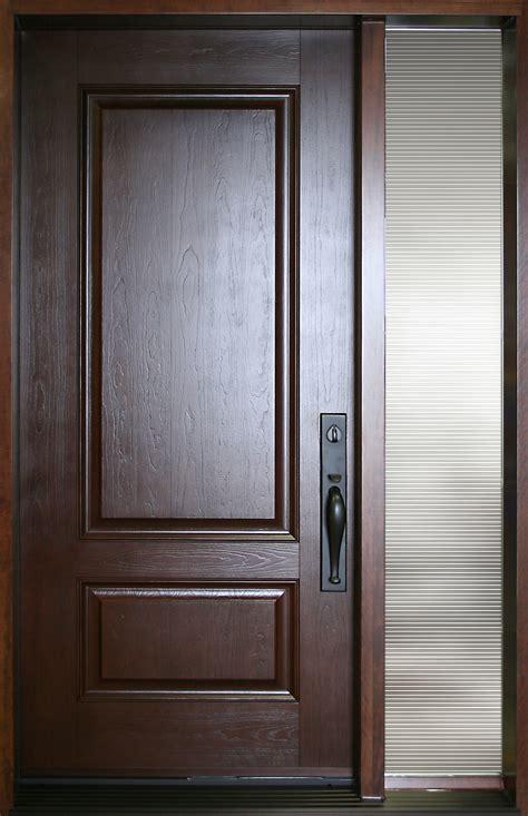 fiberglass doors fiberglass door nov 2pr with glass sidelite portatec