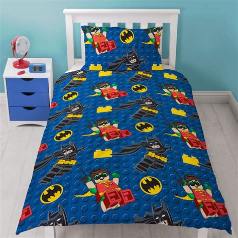 Batman Quilt Cover by Lego Batman Single Duvet Cover Set New Ebay