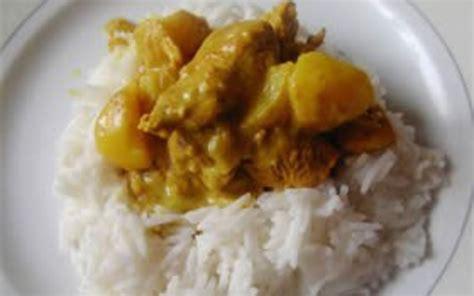 recette escalope de dinde au curry pas ch 232 re et simple gt cuisine 201 tudiant