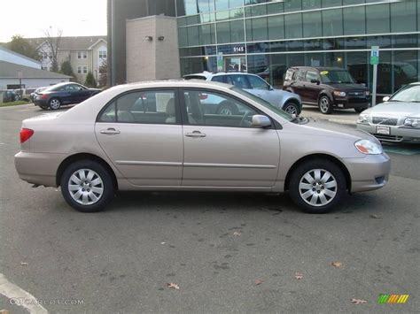 2003 sandrift metallic toyota corolla le 22319002 gtcarlot car color galleries