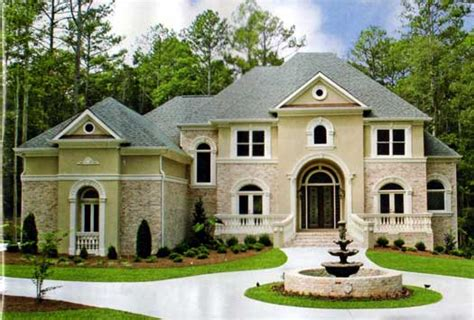 european style house plans 3277 square foot home 2