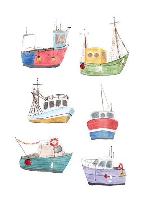 fishing boat clipart illustrations best 25 boat art ideas on pinterest boat painting